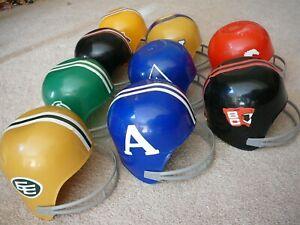 1976 Dairy Queen CFL mini football helmet full set Saskatchewan Roughriders