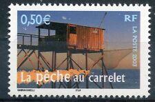 STAMP / TIMBRE FRANCE NEUF N° 3560 ** LA PECHE AU CARRELET