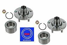 Front Wheel Hub &(OEM) NSK Bearing Kit fit Nissan Altima 3.5L 2002-2006 (PAIR)