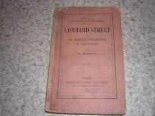 1874.Lombard street ou marché financier en Angleterre / Bagehot