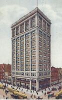 CE-349 IN, Indianapolis, I.O.O.F. Building Odd Fellows Divided Back Postcard