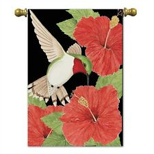 New listing Hummingbird House Flag by Magnolia gardens