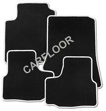 Seat Arosa Bj. ab 01.01 Fußmatten Velours  schwarz mit Rand weiß