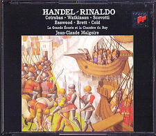 HANDEL RINALDO Ileana Cotrubas Carolyn Watkinson Paul Esswood Brett MALGOIRE 3CD