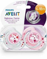 Philips Avent Night Time Succhietto6-18m Rosa