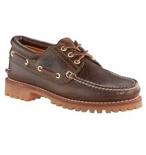 Timberland Heritage 3 Eye Classic Lug Mens Footwear Shoe - Brown All Sizes UK 10