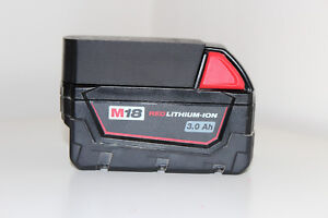 Black battery holder / cover for Milwaukee M18 18v