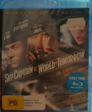 *New & Sealed* SKY CAPTAIN AND THE WORLD OF TOMORROW Collector's Edition Blu Ray