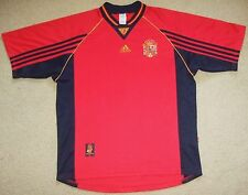 Rare Authentic 1998 Spain Adidas Mens XL Soccer Jersey Football Shirt Pre Owned