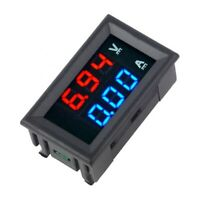 "DC 100V 100A 0.28"" Blue + Red LED Dual Digital Voltmeter Ammeter Volt Amp Meter"