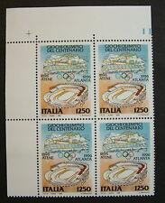 1996  Italia Quartina Giochi  Olimpici di Atlanta   1250 lire   MNh*