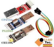 3pcs USB to TTL Module 1pc PL2303 + 1pc CP2102 + 1pc CH340 USB UART Module