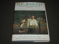 1972 N. C. WYETH BOOK BY DOUGLAS ALLEN - GREAT ILLUSTRATIONS - I 902