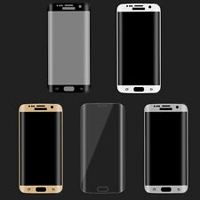 Full Screen Protector Tempered Glass Film Cover for Samsung Galaxy S7 S6 Edge