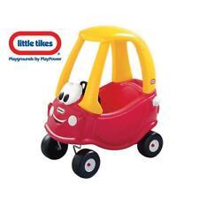 Little Tikes Cozy Coupe Kinder Laufauto Rot Gelb Lauf Fahrzeug Rutsch Auto NEU