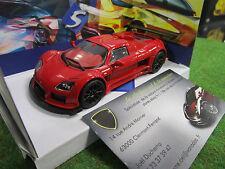 GUMPERT APOLLO rouge au 1/43 SOLIDO S4400200 voiture miniature