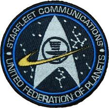 """Star Trek Starfleet United Federation of Planets Badge Embroidered Patch 3.25"""""""