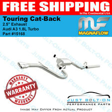 "Magnaflow 2.5"" Touring Cat-Back Exhaust for 2015-2016 Audi A3 1.8L Turbo 15168"