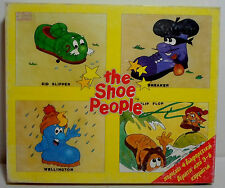 BEST 4 x PUZZLES VTG 1988 JAMES DRISCOLL THE SHOE PEOPLE JIGSAW FOR CHILDREN MIP