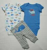Baby boy clothes, 3 MONTHS, Carter's  3 piece set new with tags