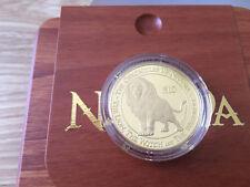 New Zealand -2006 - Gold $10 Proof Coin- 1 OZ Narnia Aslan Lion!! Scarce