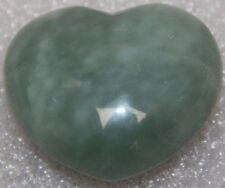 Jade heart polished heart  Feng shui crystal healing polished heart crystal / A