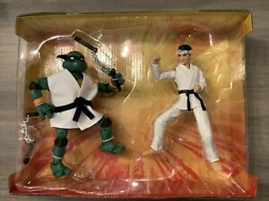 Teenage Mutant Ninja Turtles VS Cobra Kai/MICHAELANGELO/DANIEL LaRUSSO Playmates