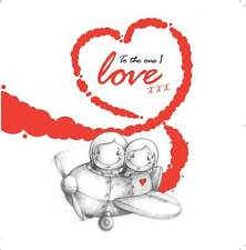 """""""To The One I Love"""" Cupids Anniversary/Birthday Card for him/her flying plane"""