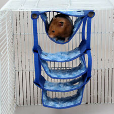 Hammock for Hamster Mice Rats Rodents Small Pet Hanging Nest Bed -17x9x27cm
