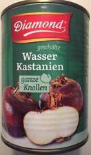 12x 567g Wasser Kastanien Diamond Esskastanien Water Chestnuts Gemüse MHD Ware