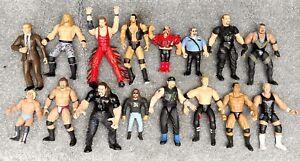 USED BUNDLE RETRO 16 X WWE Classic action figure HASBRO JAKKS toy Wrestling PLAY