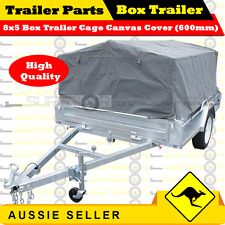 Superior 8X5 BOX TRAILER CAGE CANVAS COVER (600mm)