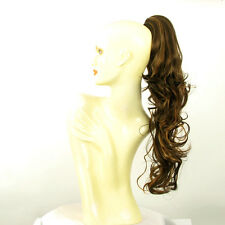 Hairpiece ponytail long wavy chocolate copper wick 25.59 ref 6/627c peruk