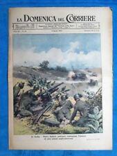La Domenica del Corriere 8 agosto 1943 WW2 Sicilia - Marina Italia - Ungheria