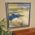 """Vintage Tadashi Asoma """"Lily Pond In Summer"""" Lithograph 1976 Matted & Framed !"""