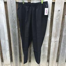 NWT Alia black 'annual replenish' trousers - size 18W