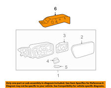 FORD OEM Door Side Rear View-Mirror Cover Cap Trim Right 6H6Z17D742CA