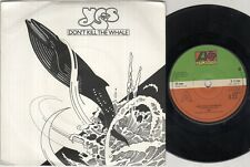 "YES Don'T Kill The Whale  7"" Ps, B/W Abalene, K 11184 (Ex-/Ex)"