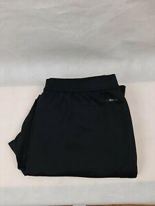 adidas Mens sweatpants black Large