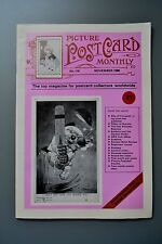 R&L Mag: Picture Postcard Monthly 1988 Nov Pillar Post Box/George Studdy Bonzo