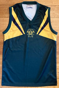 Trinity Grammar Kew Football Jumper Guernsey Bob Stewart