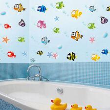 Fish NEMO Wall Sticker Cartoon Decor Removable Nursery Kids Room Bathroom Decals