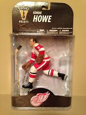 Mcfarlane Nhl (ONE) Gordie Howe Mr.Hockey Detroit Red Wings figure.Mint Rare