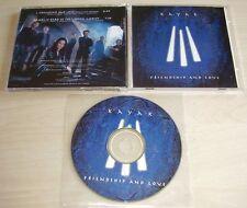 KAYAK Friendship and Love Promo CD 2002 2trk