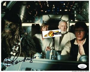RIP- Star Wars Official Pix- Peter Mayhew, Chewbacca signed 8x10 photo JSA COA