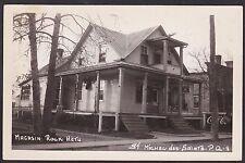 C 1946 Real Photo RPPC Postcard Magasin Rock Hetu ST MICHEL DES SAINTS Quebec
