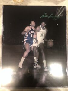 Bill Russell Signed 11x14 Photo Boston Celtics