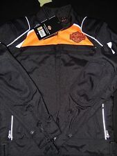 Harley-Davidson Men's Hi-Vis Switchback Lite Riding Jacket (size Small) NEW!