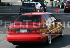 Trunk spoiler for VW Vento US Jetta MK3 boot wing cover trim