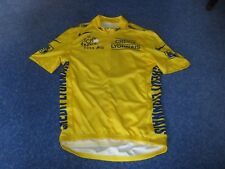 TOUR DE FRANCE 2005 NIKE YELLOW LEADERS CYCLING JERSEY [L] Unused